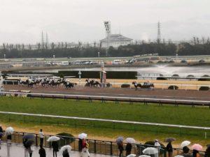 京都競馬場の画像