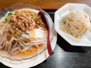 冷やし担々麺ランチ画像