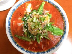 麻辣刀削麺の画像