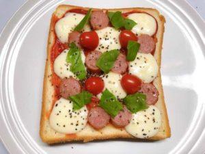 ピザトーストの画像