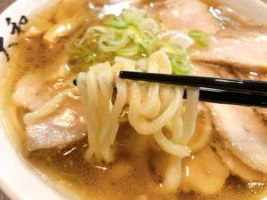 平打ち麺の画像